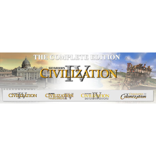 Sid Meiers Civilization IV: The Complete Edition steam key global