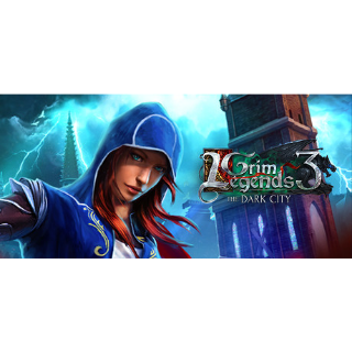Grim Legends 3: The Dark City steam key global