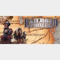 Railroad Pioneer steam key global