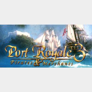 Port Royale 3 steam key global