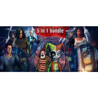 Hidden Object Bundle 5 in 1 steam key global