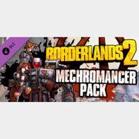DLC Borderlands 2: Mechromancer Pack STEAM KEY GLOBAL