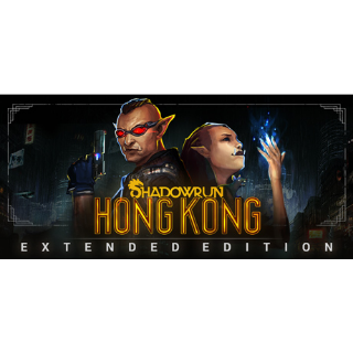 Shadowrun: Hong Kong - Extended Edition steam key global