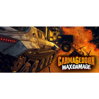 Carmageddon: Max Damage STEAM KEY GLOBAL