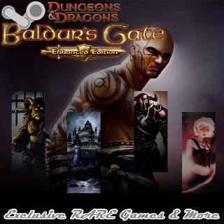 Baldur's Gate: Enhanced Edition Steam Key GLOBAL INSTANT