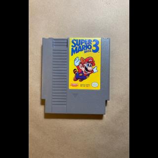 NES Super Mario Brothers 3 Classic