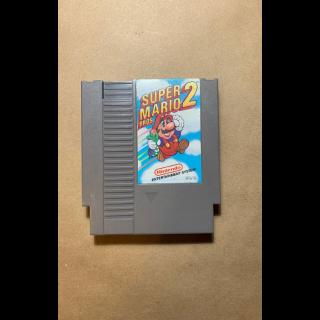 NES Super Mario Brothers 2 Classic