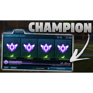I will get your champs rewards for you, pc only.
