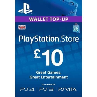 £10 PlayStation Store Gift Card - Instant Delivery