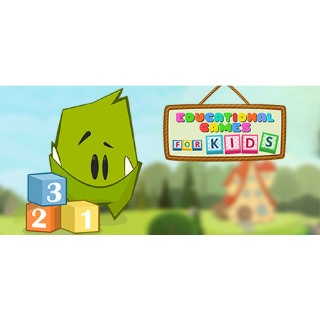 EDUCATIONAL GAMES FOR KIDS - STEAM GLOBAL - INSTANT