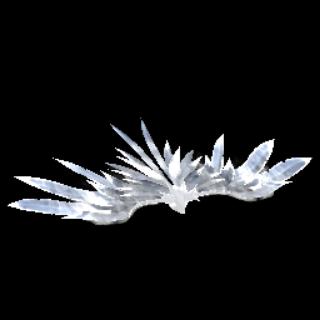 Phoenix Wings III | Titanium White