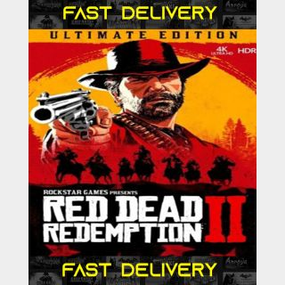 Red Dead Redemption 2 Ultimate Edition   Fast Delivery ⌛  Rockstar CD Key   Worldwide  