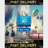 Cities Skylines Mass Transit   Fast Delivery ⌛  Steam CD Key   Worldwide  
