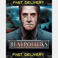 Realpolitiks | Fast Delivery ⌛| Steam CD Key | Worldwide |