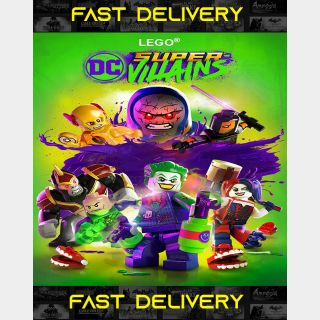 Lego Super Villains| Fast Delivery ⌛| Steam CD Key | Worldwide |