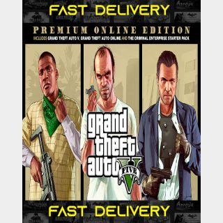 Grand Theft Auto V - Gta V Premium Online Edition   Fast Delivery ⌛  Rockstar CD Key   Worldwide  