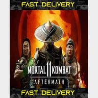 Mortal Kombat 11 Aftermath DLC ONLY   Fast Delivery ⌛  Steam CD Key   Worldwide  