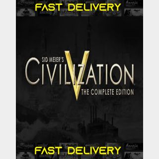 Sid Meier's Civilization V Complete Edition | Fast Delivery ⌛| Steam CD Key | Worldwide |