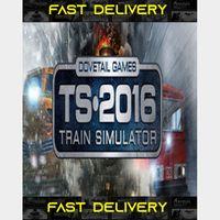 Train Simulator 2016 | Fast Delivery ⌛| Steam CD Key | Worldwide |