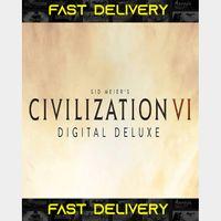 Sid Meier's Civilization VI - Digital Deluxe Edition | Fast Delivery ⌛| Steam CD Key | Worldwide |