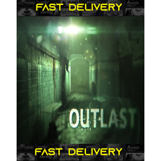Outlast + DLC | Fast Delivery ⌛| Steam CD Key | Worldwide |