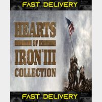 Hearts of Iron III - Collection | Fast Delivery ⌛| Steam CD Key | Worldwide |