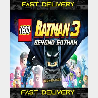 LEGO Batman 3 - Beyond Gotham| Fast Delivery ⌛| Steam CD Key | Worldwide |