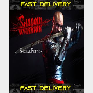 Shadow Warrior Special Edition | Fast Delivery ⌛| Steam CD Key | Worldwide |
