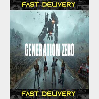 Generation Zero | Fast Delivery ⌛| Steam CD Key | Worldwide |