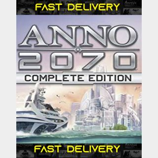 Anno 2070 Complete Edition | Fast Delivery ⌛| Uplay CD Key | Worldwide |