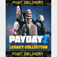 Payday 2 Legacy Collection | Fast Delivery ⌛| Steam CD Key | Worldwide |