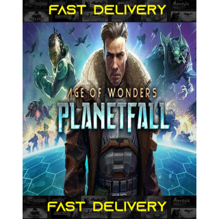Age of Wonders Planetfall   Fast Delivery ⌛  Steam CD Key   Worldwide  