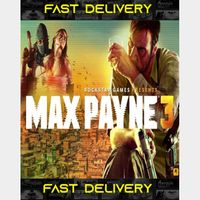 Max Payne 3 - Rockstar Pass | Fast Delivery ⌛| Steam CD Key | Worldwide |