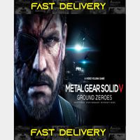 Metal Gear Solid V Ground Zeroes | Fast Delivery ⌛| Steam CD Key | Worldwide |
