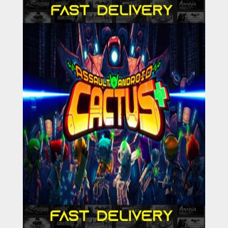 Assault Android Cactus| Fast Delivery ⌛| Steam CD Key | Worldwide |