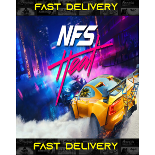 Need For Speed Heat   Fast Delivery ⌛  ONLY ENGLISH LANGUAGE AVAILABLE   Origin CD Key   Worldwide  