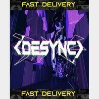 DESYNC | Fast Delivery ⌛| Steam CD Key | Worldwide |