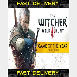 The Witcher 3 Wild Hunt Game Of The Year - GOTY | Fast Delivery ⌛| GOG CD Key | Worldwide |