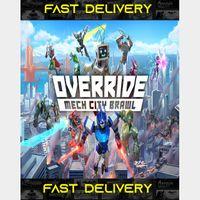 Override Mech City Brawl   Fast Delivery ⌛  Steam CD Key   Worldwide  