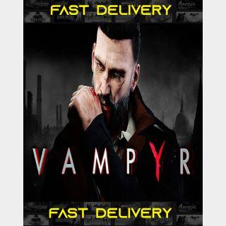 Vampyr| Fast Delivery ⌛| Steam CD Key | Worldwide |