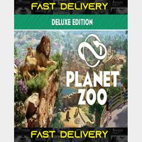 Planet Zoo Deluxe Edition | Fast Delivery ⌛| Steam CD Key | Worldwide |