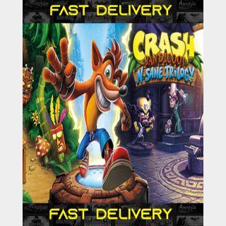 Crash Bandicoot N. Sane Trilogy | Fast Delivery ⌛| Steam CD Key | Worldwide |