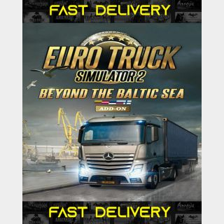 Euro Truck Simulator 2 Beyond The Baltic Sea   Fast Delivery ⌛  Steam CD Key   Worldwide  