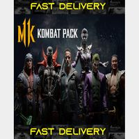 Mortal Kombat 11 Kombat Pack DLC ONLY   Fast Delivery ⌛  Steam CD Key   Worldwide  