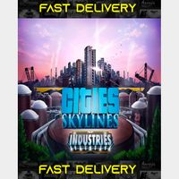 Cities Skylines Industries   Fast Delivery ⌛  Steam CD Key   Worldwide  