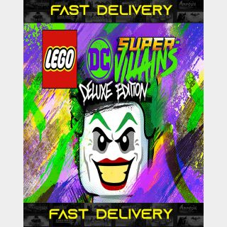 Lego Super Villains Deluxe Edition | Fast Delivery ⌛| Steam CD Key | Worldwide |
