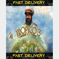 Tropico 3 Gold Edition| Fast Delivery ⌛| Steam CD Key | Worldwide |
