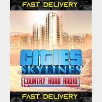 Cities Skylines Country Road Radio | Fast Delivery ⌛| Steam CD Key | Worldwide |