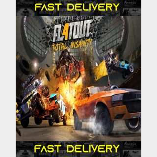 FlatOut 4 Total Insanity   Fast Delivery ⌛  Steam CD Key   Worldwide  