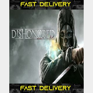 Dishonored   Fast Delivery ⌛  Steam CD Key   Worldwide  